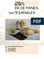 TALLER PANES Artesanales