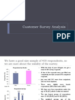 Customer Survey Analysis