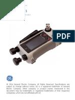 Dpi611 Pressure Calibrator User Manual English