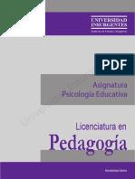 B03 Psicología Educativa ME