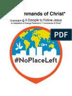 Commands of Christ Handbook NEW
