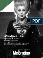 110. W. a. Mozart - Mitrídates