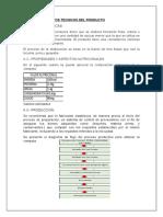 Ficha Comercial de Compota