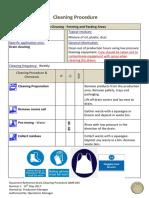 QMR 044 Drain Cleaning Procedure