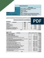 Presupuesto San Isidro Delmaino