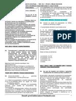 TRF TARDE - AULA 02 - DIREITO CONSTITUCIONAL - EXERC+ìCIOS - 15.08.2016