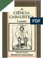 A Ciência Cabalística  -  Lenain.pdf