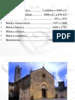 Historia Da Musica_prehistoria a Modernidade FICHAMENTOS
