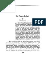 Driesch. Die Parapsychologie