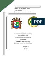 Informe de La Densidad
