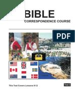 Bible Test 3