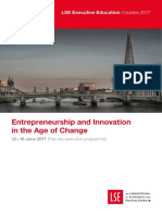 LSE Entrepreneurship and Innovation