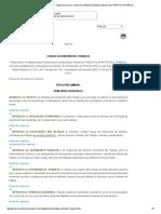 Código Sustantivo del trabajo colombia