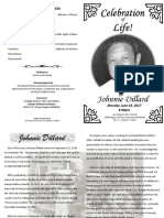 Johnnie  Dillard Program