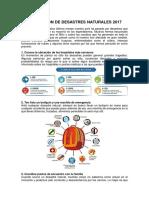 Prevención de Desastres Naturales 2017