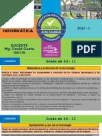 Clase 10 Estructura de Los Lineamientos 10 a 11