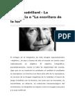 Jean Baudrillard - La Fotografía o La Escritura de La Luz