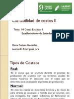 Tema 10 Conta de Costos II