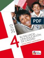 4 Rutas Hacia La Educacion