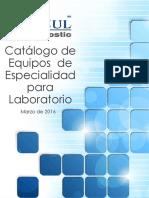 Catalogo de Equipos Para Laboratorio 2016