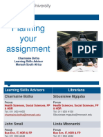 Aza2495 Lab Report -Planning Your Assignment 2015