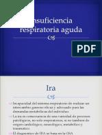 Insuficiencia respiratoria  aguda enfermería en urgencia
