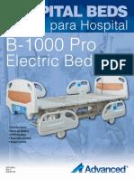 Hospital Bed B-1000 Pro Brochure