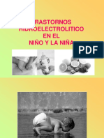 Trastornos Hidroelectroliticos Diarreadel Niã'o 2014