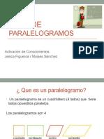 presentación paralelogramos
