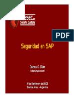 Tendencias2008 Seguridad en SAP v3