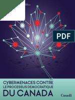 Cybermenaces contre le processus démocratique du Canada