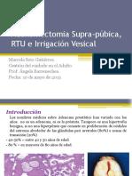 2) Adenectomia RTU Irrigacion