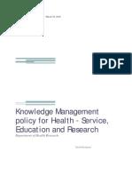 Health Knowledge Resource Draft