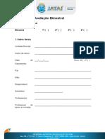 Relatório de Avaliação Bimestral- Deficiência Intelectual