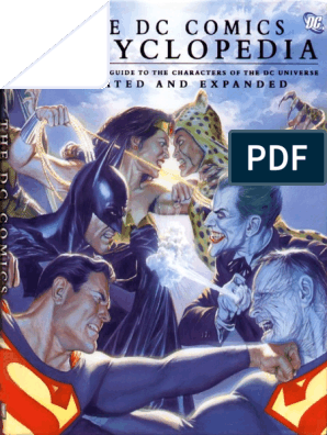 The DC Comics Encyclopedia (Updated & Expanded) pdf