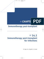 Immunotherapy Post Transplant