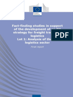 Report From IRU - Fact Finding Studies in Support of the Development of an EU Strategy for Freight Transport Logistics