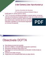 DCFTA - date generale