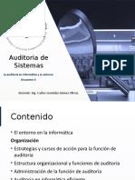 Auditoria y Su Entorno