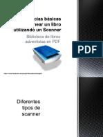 sugerencias bsicas para escanear un libro