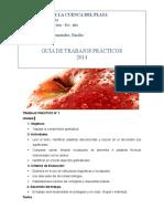 Guía de Trabajos Practicos Lic. en Nutrición 2014 Portugués I