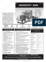 Kenworth w900 Brochure