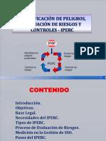 Identificación de Peligros, Riesgos y Controles - IPERC