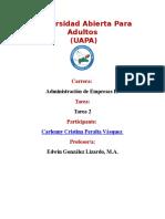 Administración de Empresas II Tarea 2