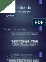 Instrumentos de Recolección de Datos