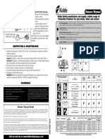 Kidde kitchen Extinguisher Owners Manual