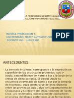 Determinacion de Las Propiedades Petrofisicas Del Pozo Incahuasi