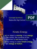 Energy in a Nutshell