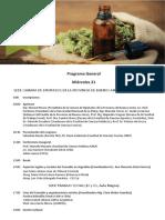 Programa Congreso Cannabis