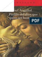 Pasion Del Dios Que…RAFAEL ARGULLOL Copia